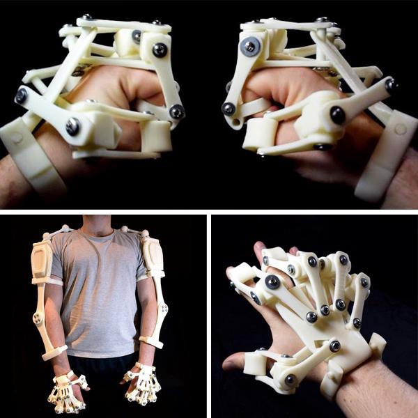 7. Les exosquelettes imprimés en 3Dde 3D Print It