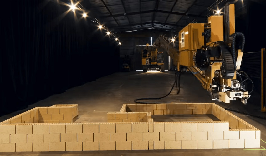 Interview de Fastbrick Robotics, le robot maçon 3D