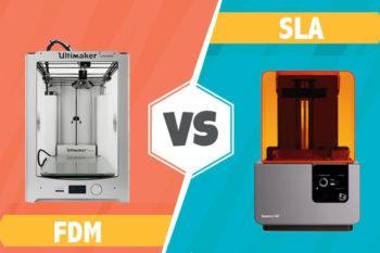 FDM ou SLA : quelle technologie d'impression 3D choisir?