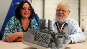 Géraldine Aubry dirigeante de 3D&P et son père Dominique