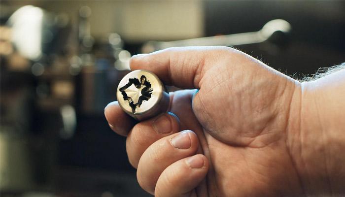 3D-gedruckte Radmuttern