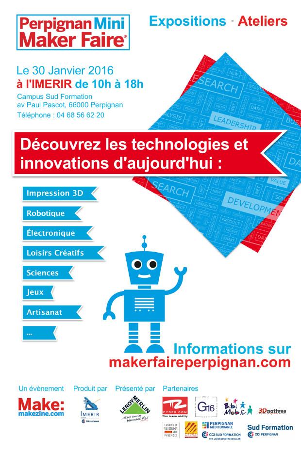 Maker Faire 2016 - Affiche