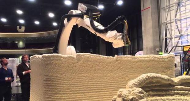 logement habitable imprimé en 3D