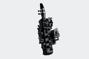 Odisei Music et son saxophone imprimé en 3D