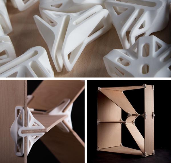 2. Les joints pour construire des étagères