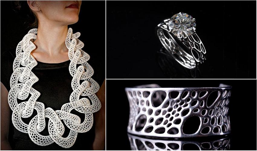 top 10 des bijoux imprim s en 3d 3dnatives. Black Bedroom Furniture Sets. Home Design Ideas