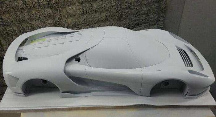 supercar imprimé en 3D