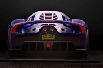 Un modèle de supercar imprimé en 3D pour promouvoir son futur lancement