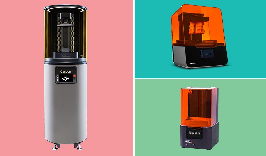 imprimantes 3D résine