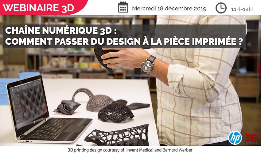 webinaire chaîne numérique 3D
