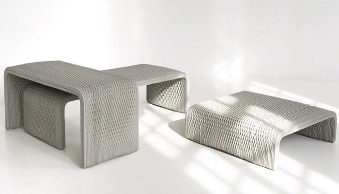 mobilier imprimé en 3D