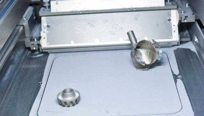 3D printed aluminum