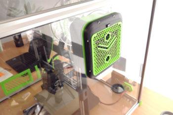 Alveo3D, un filtre pour imprimer en 3D dans un environnement sain