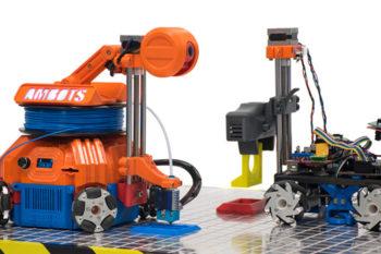 #Startup3D : AMBOTS et l'impression 3D en essaim de robots