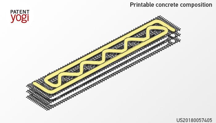 béton imprimable en 3D
