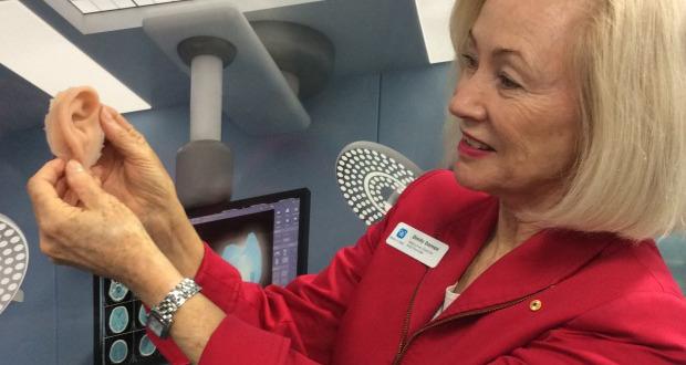 oreille imprimée en 3D