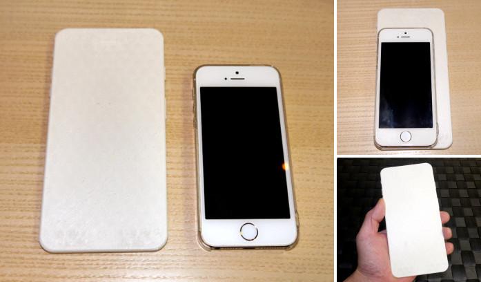 Certains fans de la marque à la pomme ont déboursé jusqu'à $25 pour imprimer en 3D une maquette du futur iPhone 6+