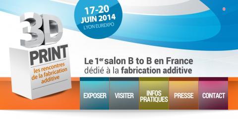 Un premier salon professionnel destin l 39 impression 3d en france 3dnatives - Salon professionnel en france ...