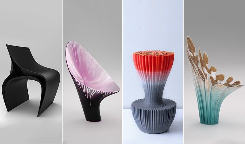 le salon du meuble de milan se tiendra du 17 au 22 avril et sera une occasion de voir quelques chaises imprimes en 3d assez originales - Des Chaises