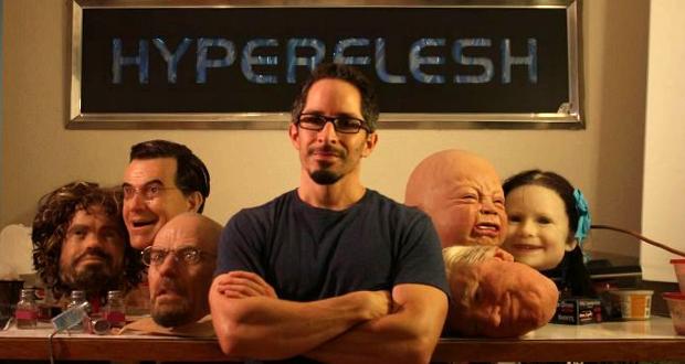 Les masques ultra réalistes Hyperflesh sont imprimés en 3D