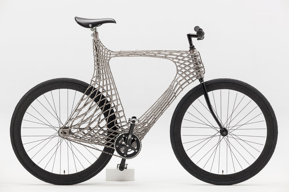 3d Metal Printing >> Arc Bicycle, un vélo d'acier imprimé en 3D - 3Dnatives