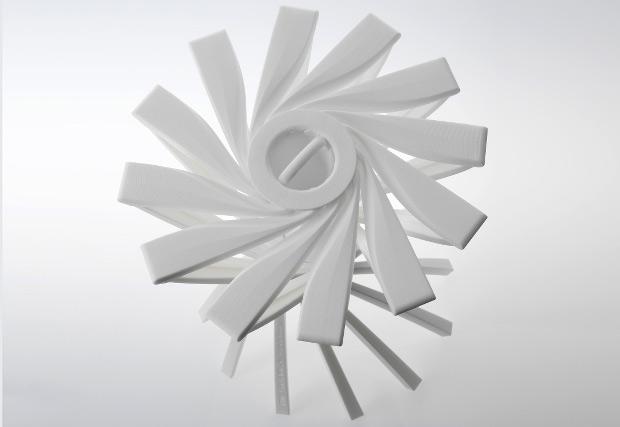 Le tabouret imprimé en 3D One_Shot.MGX de Patrick Jouin