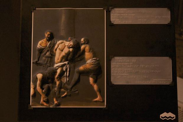 """La version imprimée en 3D de """"La Flagellation du Christ"""" de Caravage"""