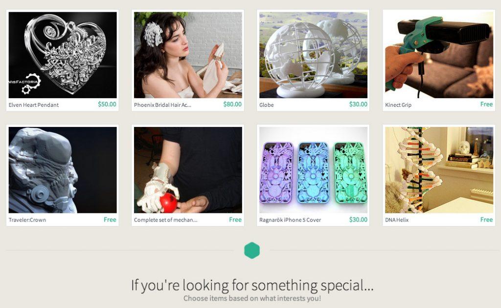 Plus de 45 000 modèles 3D sont disponibles sur la marketplace