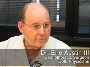 Le Dr. Austin Erle du Kosair Children's Hospital