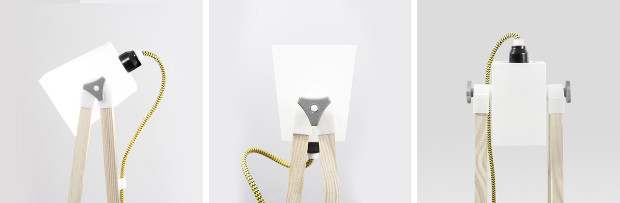 La lampe SMF.01 à imprimer et assembler