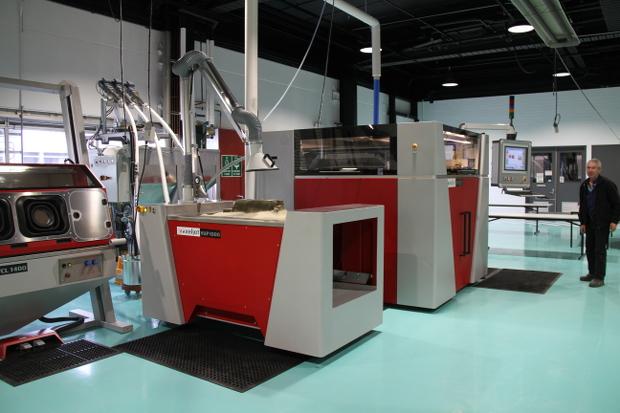 Les imprimantes 3D métal de VoxelJet viendront équiper le Lab 22