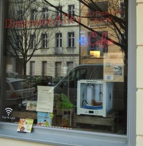 DimensionAlley est le premier 3D Printing Café d'Allemagne