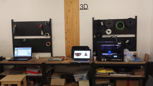 Le stand Impression 3D des Ateliers Draft