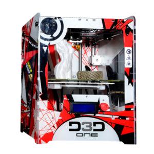 La D3D One-Evo devrait rester proche esthétiquement de sa grande soeur la D3D One