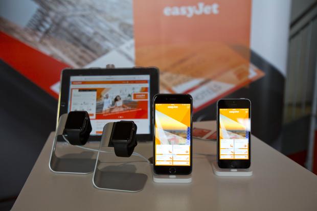 easyJet a notamment dévoilé une application dédiée à l'Apple Watch