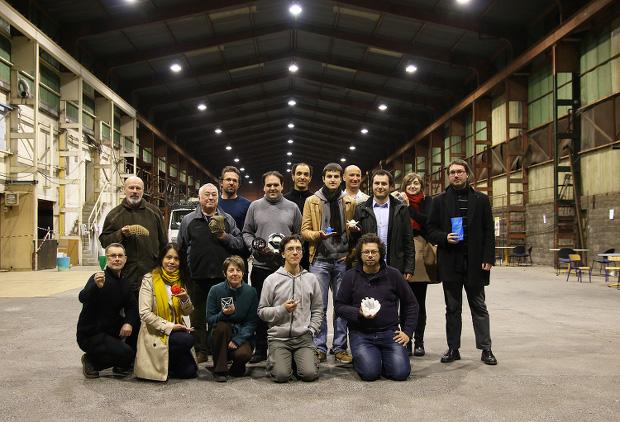 L'équipe à l'origine du FabLab Festival