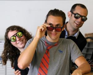 Manon, Antoine et Sébastien de chez Glass'Yourself