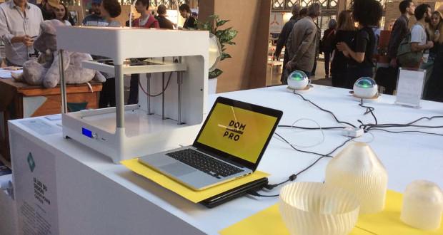 L'imprimante 3D Dom Pro, dernière des ateliers de Dood Studio