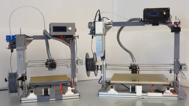 Les deux imprimantes 3D modulables de chez 3D Modular Systems