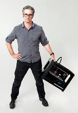 Bre Pettis, CEO de MakerBot, annonce avoir vendu plus de 100,000 unités depuis sa création