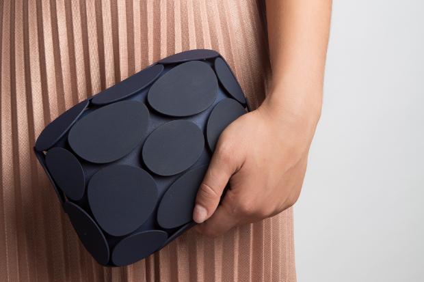 Le sac Armure Clutch imprimé en 3D par Maison 203