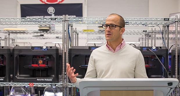 Jonathan Jaglom, CEO de MakerBot