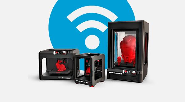 makerbot d voile son application mobile et propose enfin d 39 imprimer en wifi 3dnatives. Black Bedroom Furniture Sets. Home Design Ideas