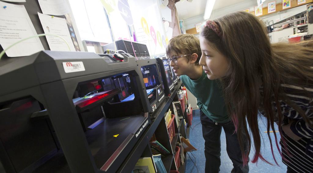 L'Éducation, une cible prioritaire pour MakerBot