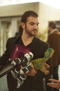 Max Vallet, en charge de la Mini Maker Faire Lyon