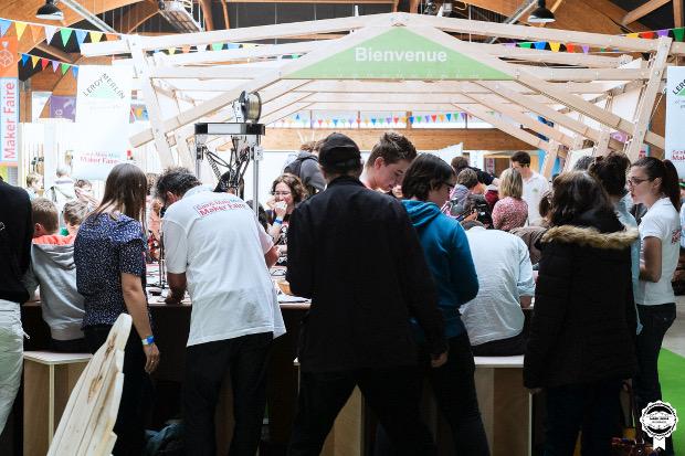 La Mini-Maker Faire de St-Malo se déroulait il y a quelques semaines en amont de l'édition parisienne