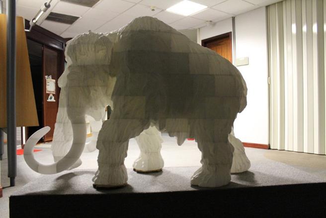 La réplique comporte près de 200 pièces imprimées en 3D