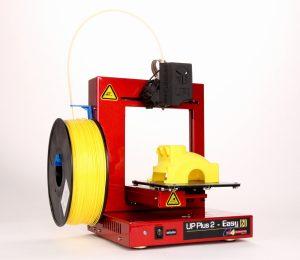 L'imprimante 3D Up! Plus 2 utilisée pour la fabrication du mammouth
