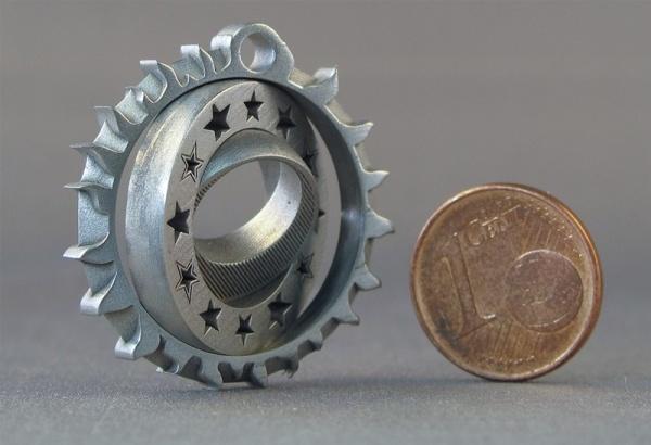 Mécanisme imprimé à partir du procédé MLS