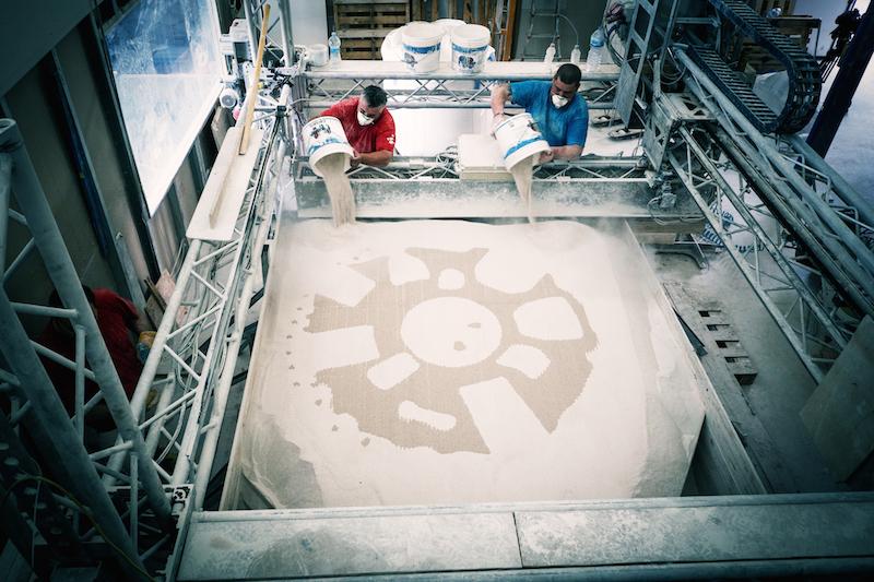 L'imprimante 3D géante capable d'imprimer les récifs